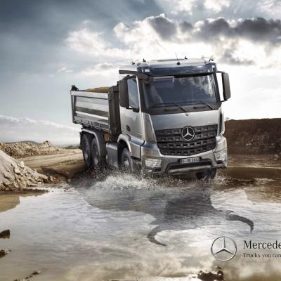 Picture Mercedes Benz Arocs 1