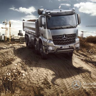 Picture Mercedes Benz Arocs