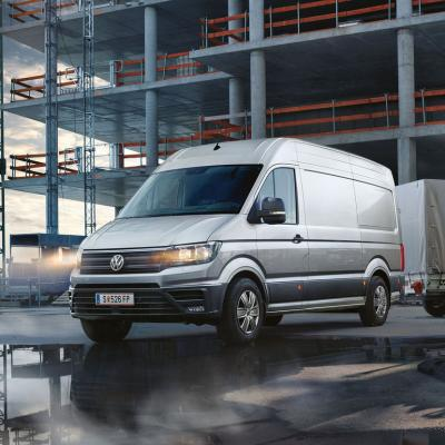 Vw Crafter 2016 Baustelle 1